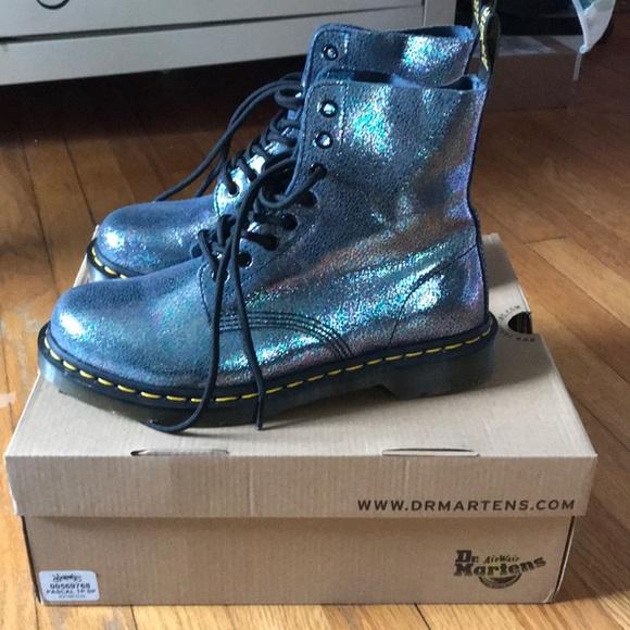 9ca3bb985 Dr. Martens size 9 Pascal 8-Eye Sparkle Boot. M_5ab2b69ed39ca284f65e5c6a